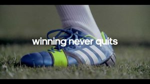 Figurant voetbal commercial
