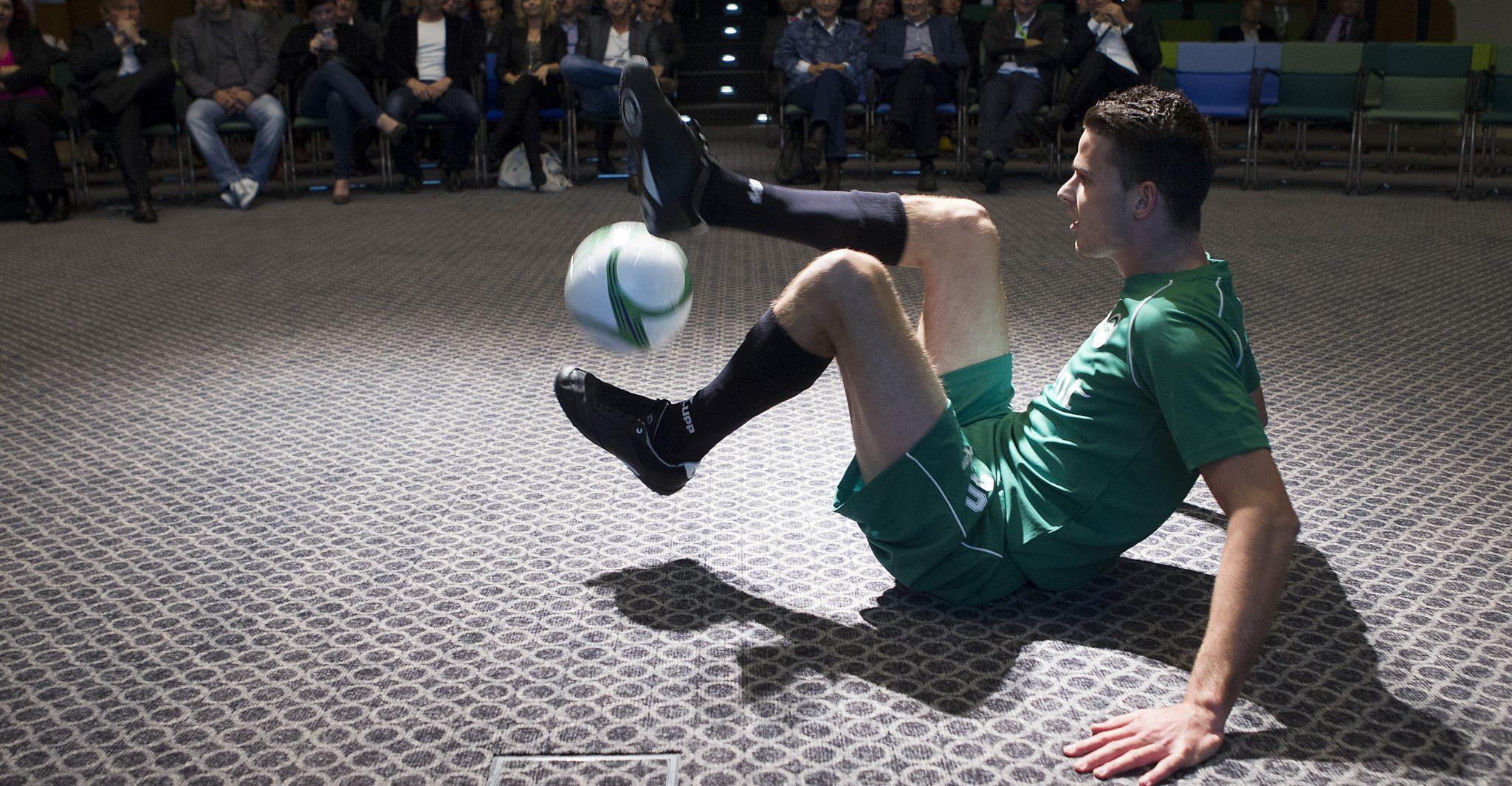 Freestyle voetbalshow