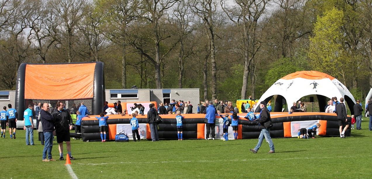 Voetbalfun bij ACV Assen