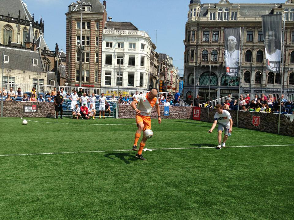 Freestyle voetbalshow